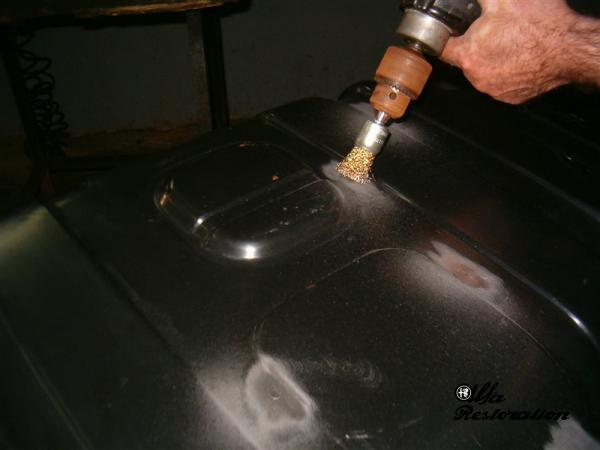 Fuel Tank External Repair