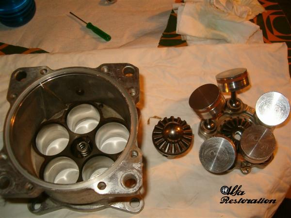 AC Compressor Repair - Assembly (front part)