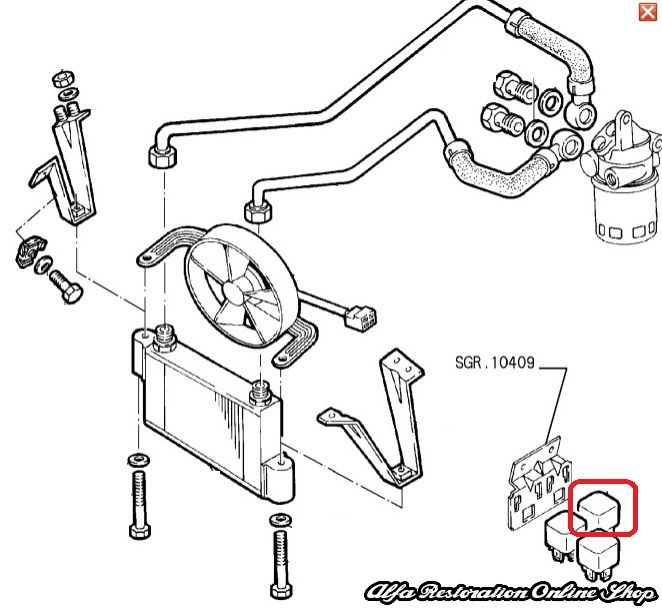 Alfa Romeo Engine Cooling Diagram : Alfa romeo spider veloce ignition wiring diagrams engine