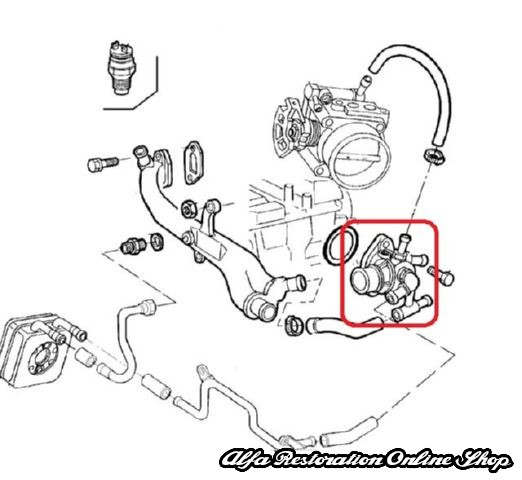 Alfa 145146 14 16 Tsalfa 155 Ts Engine Thermostat Restoration Online Shop: Alfa Romeo 146 Wiring Diagram At Hrqsolutions.co